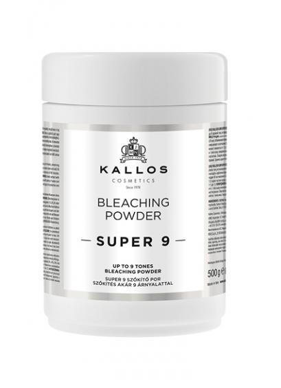Kallos Super 9 Bleaching Powder 500g