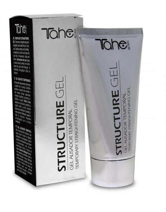 TAHE Botanic Styling STRUCTURE GEL temporary straightening gel 60ML (FIXING LEVEL 2)
