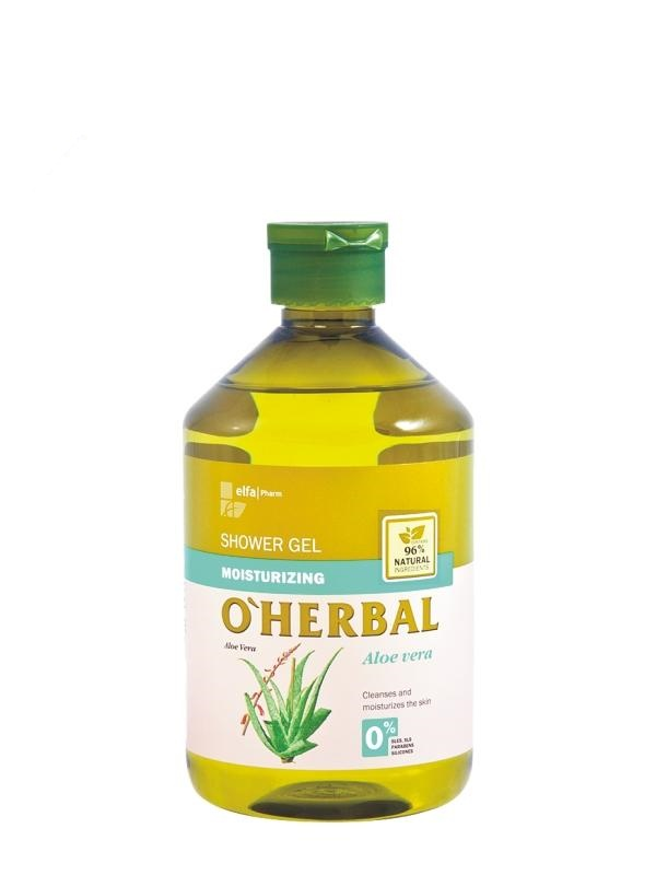 O´HERBAL Aloe Vera sprchový gél 500ml