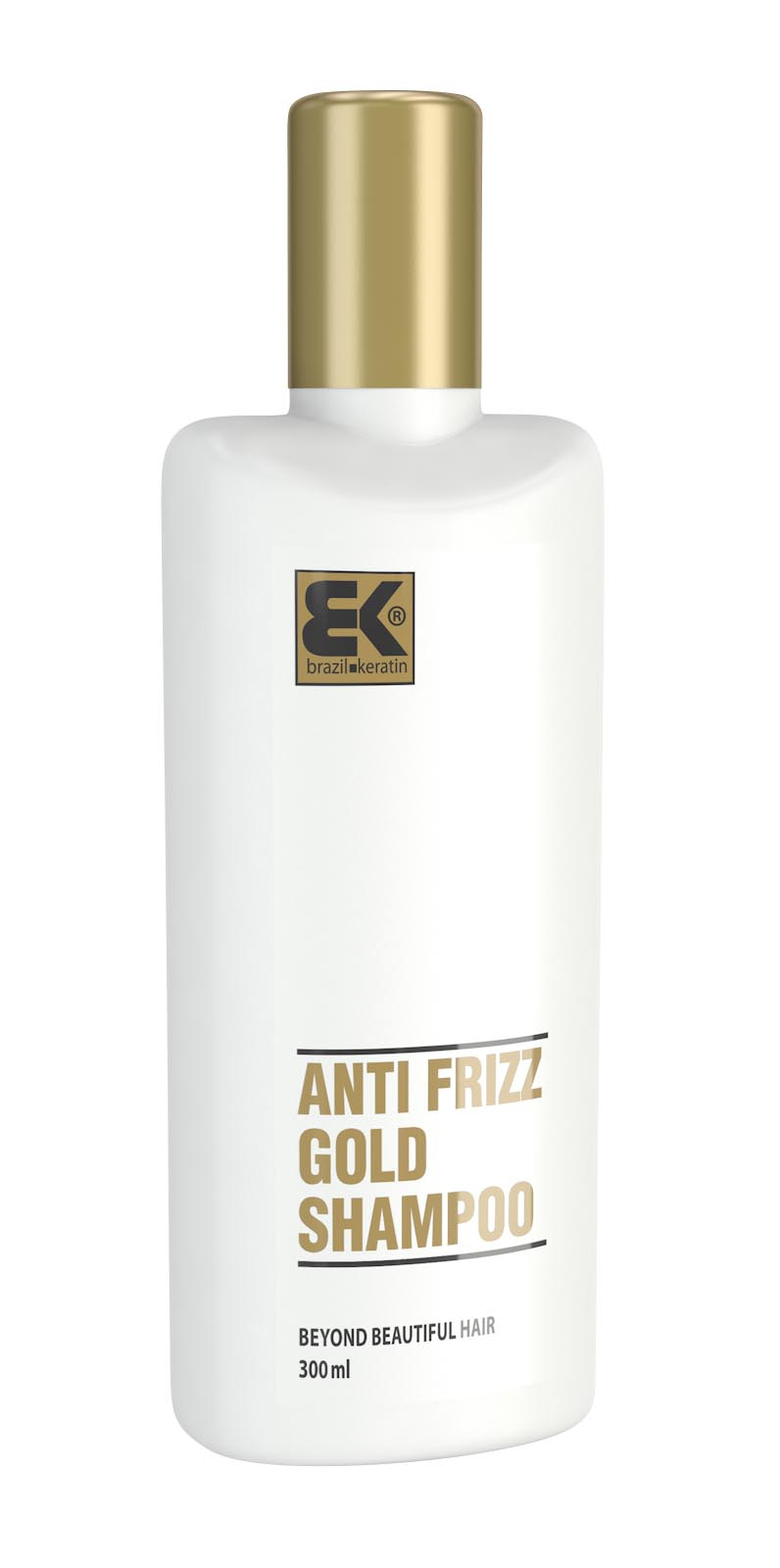 Brazil Keratin Shampoo Anti-Frizz Gold 300 ml