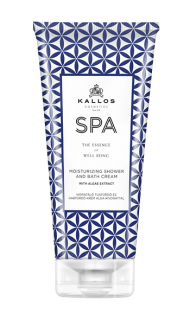Kallos Spa Moisturizing Shower Bath Cream