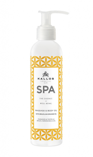 Kallos Spa Massage Body Oil