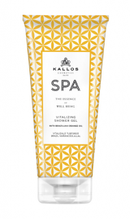 Kallos SPA Vitalizing Shower Gel with Brazilian orange oil