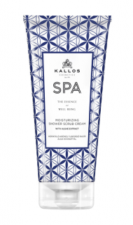 Kallos SPA Moisturizing Shower Scrub Cream