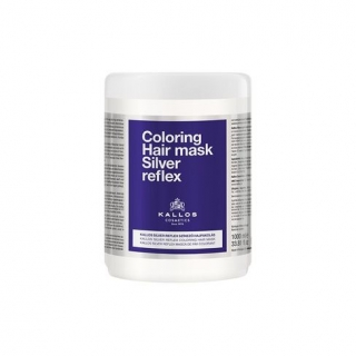 Kallos Coloring Hair Mask Silver Reflex 1000ml