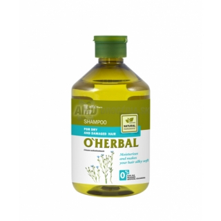 O´HERBAL Ľanový šampón 500ml