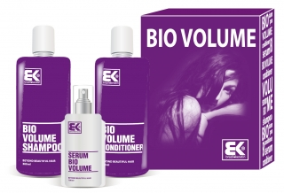 BK Bio Volume set ( šampón 300ml+kondicionér 300ml+sérum 100ml)