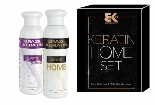 BK Brazil Keratin Beauty Home Set (150ml šampon+ 150ml keratin )